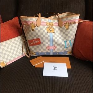 Louis Vuitton Limited Edition Neverfull.